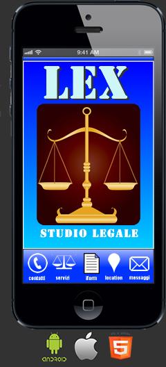 Applicazione Studio Legale per Android e Ios