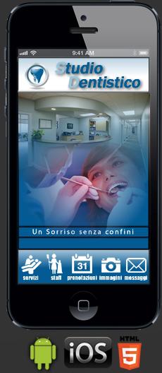 Applicazione Dentista per Android e Ios