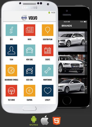 App Concessionario Android e Ios